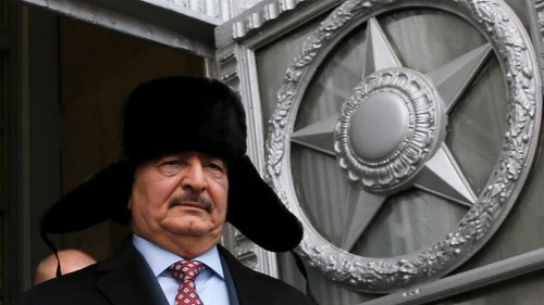 Russia's endgame in Libya