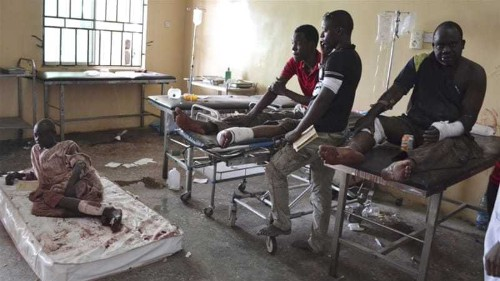 Multiple suicide blasts rock Nigeria's Maiduguri