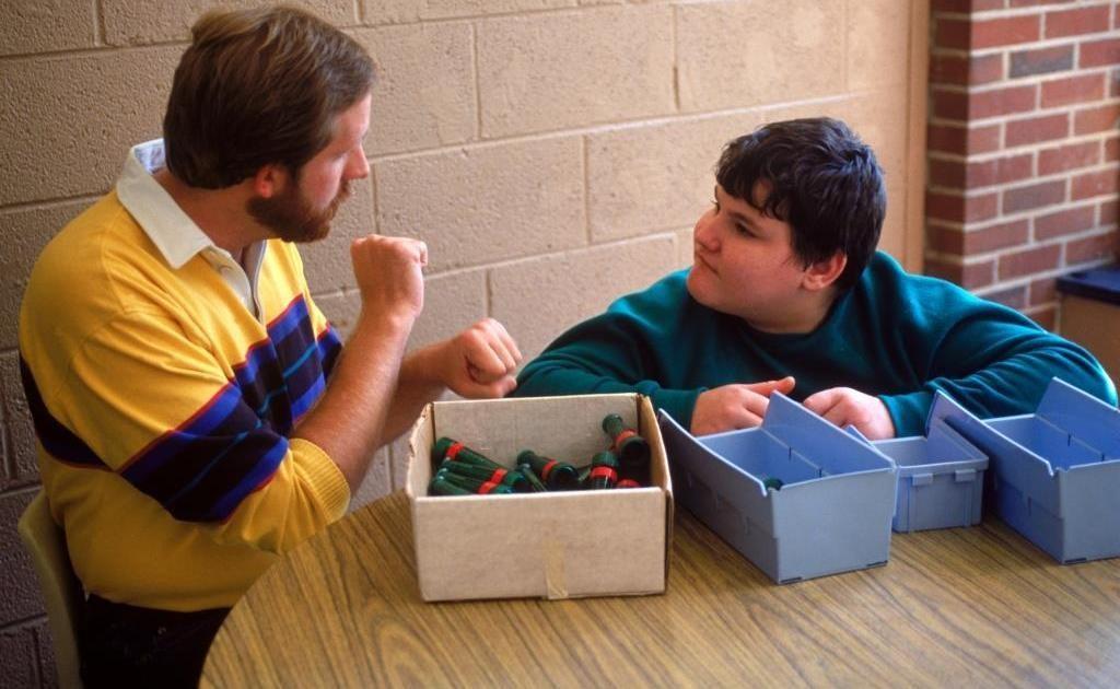 Special needs children in the classroom