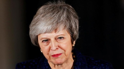 Embattled British PM Theresa May in Brussels for EU summit