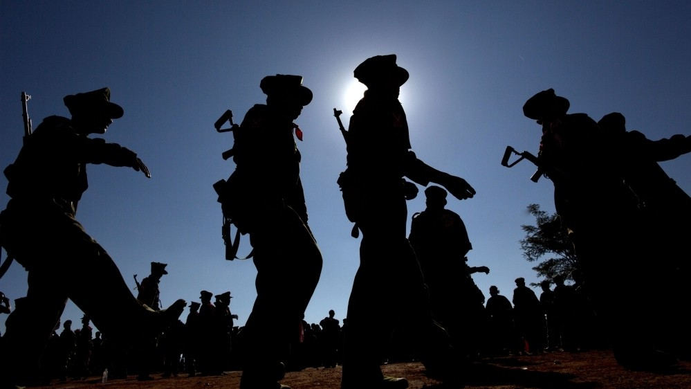 Thousands displaced by Myanmar military offensive
