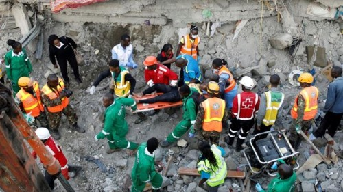 Kenya: Survivors found two days after Nairobi building collapse