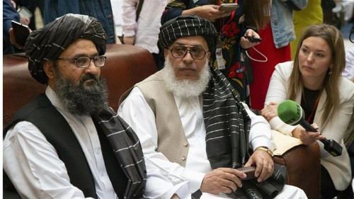 Taliban in China to discuss Afghan peace after US talks collapse