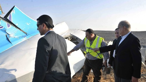 Egypt: No distress call from pilot prior to crash