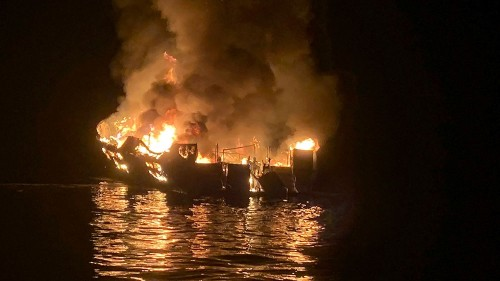California boat fire: Bodies of all but one victim recovered