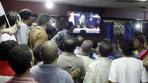 Concern for free speech in Egypt