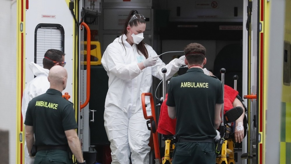 Johnson 'stable' as UK records deadliest day since epidemic began