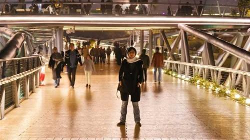 The award-winning bridge connecting Iranians