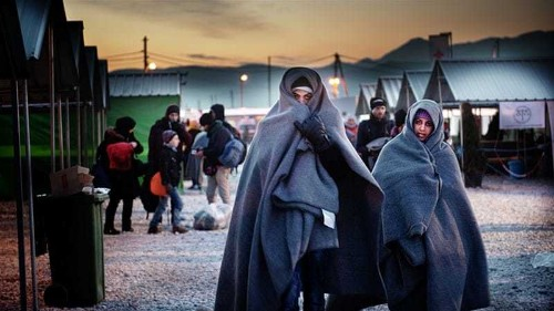 Life as a female refugee: 'You don't know who to trust'