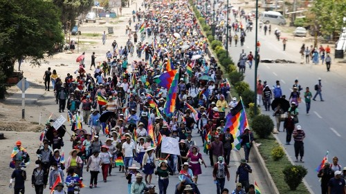 IACHR calls for int'l probe of alleged rights abuses in Bolivia