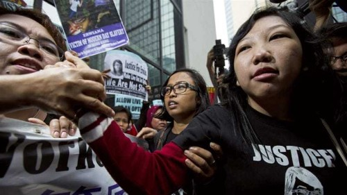 Hong Kong woman jailed for torturing maid