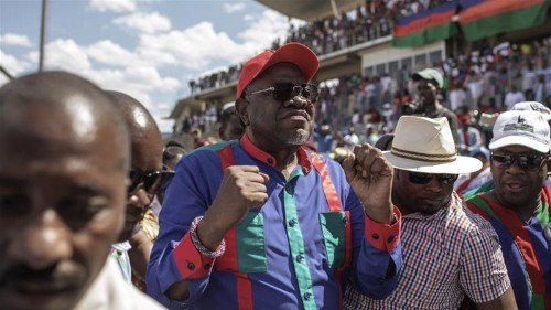 Incumbent party wins Namibian election amid corruption scandal