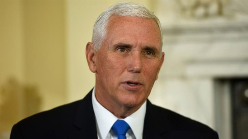 Pence says attacks against allies, global energy supply will fail