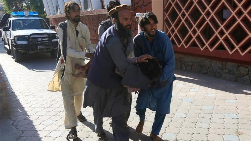Suicide bomber kills civilians, police in eastern Afghanistan