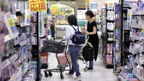 Japan's economy grows faster than estimated, but alarm bells ring