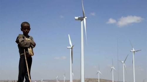 Africa's biggest wind farm opens in Ethiopia