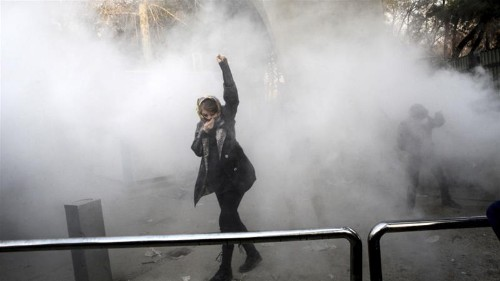 Iranians respond to the regime: 'Leave Syria alone!'