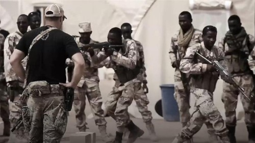 Is the US military doing a 'fantastic job' in Africa?