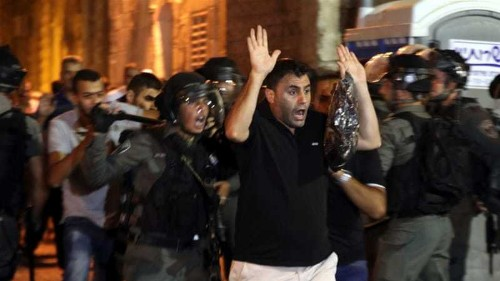 Palestinians have a legal right to armed struggle