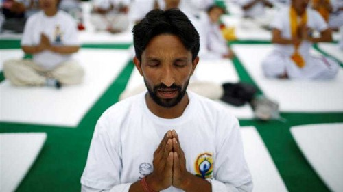 International Yoga day: Yoga in unexpected places