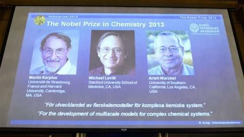 US-based scientists win Nobel chemistry prize