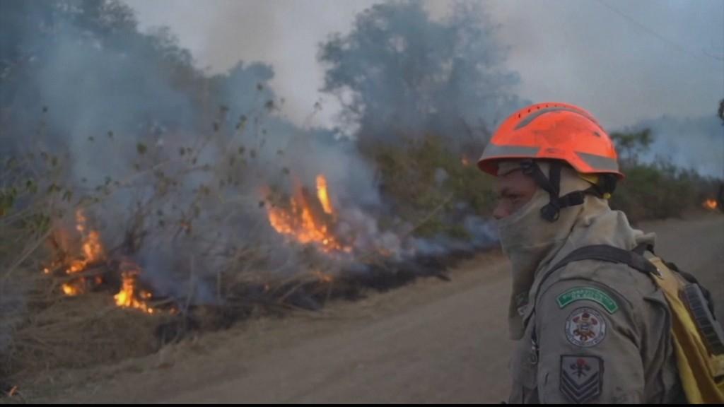 Fires ravage Brazil's Amazon rainforest, Pantanal wetlands