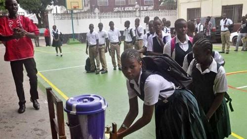Liberia schools reopen after six-month Ebola closure