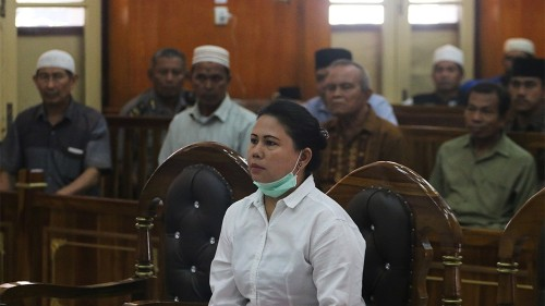 Indonesia frees ethnic Chinese woman jailed for blasphemy