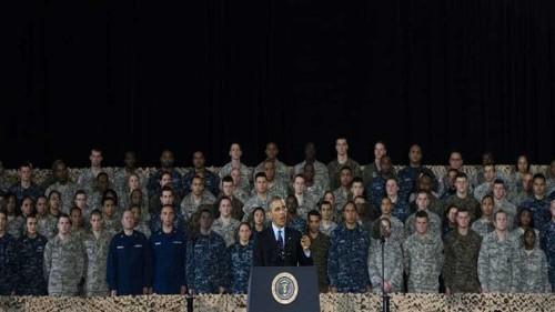 US anti-war president's new war resolution