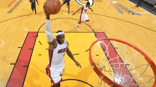 LeBron torments Pacers again