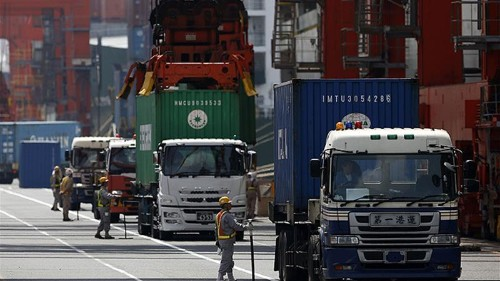Sliding Japan exports, manufacturing gloom heighten economic risk