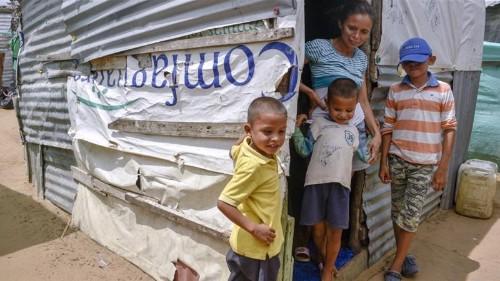 Venezuelan crisis: Stateless children facing limbo in Colombia