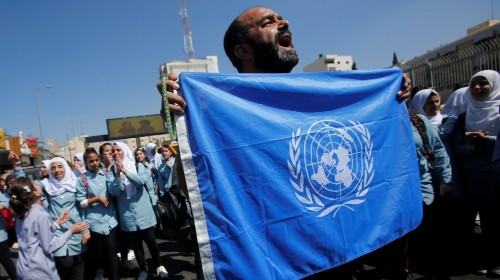 UNRWA chief of staff leaves over 'unacceptable email'
