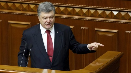 Ukraine president fears 'full-scale invasion' by Russia