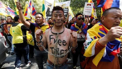 Rallies in India mark 60 years of Tibet uprising