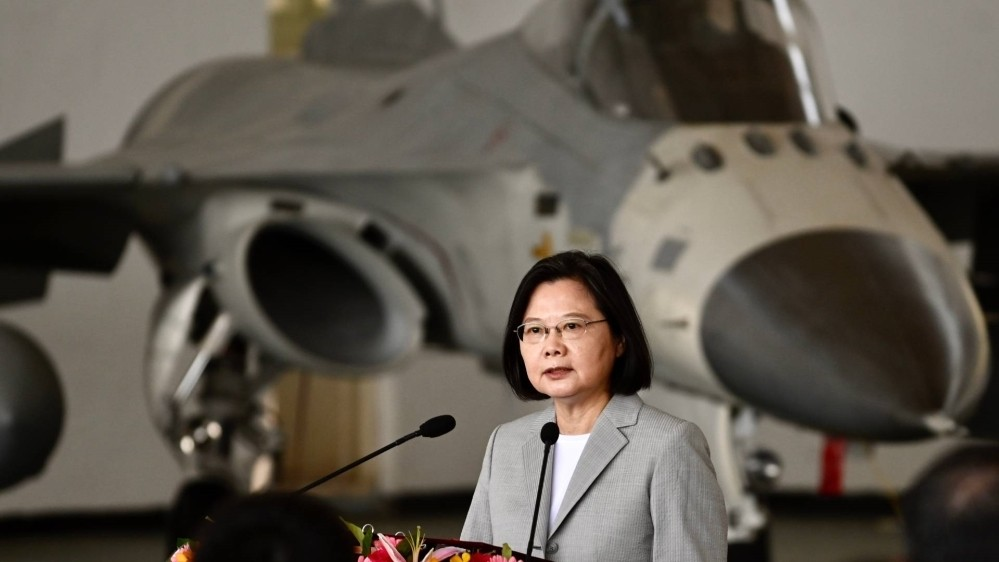 Taiwan tells China to 'back off' as airspace 'incursions' rise