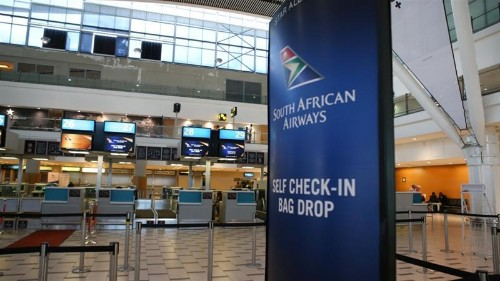 South African Airways meets unions for talks to end strike
