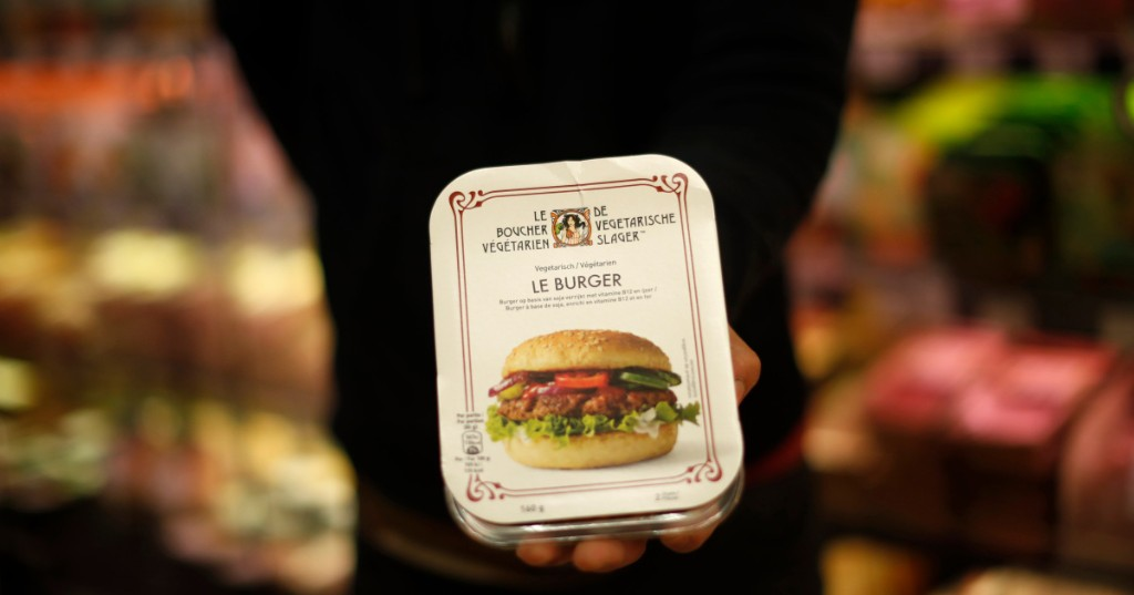 Medium rare: EU rules no-meat products can be labelled 'burger'