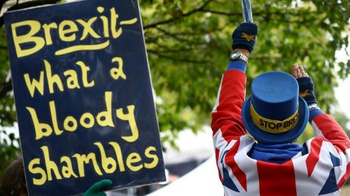 Brexit Britain braces for election while waiting for EU decision