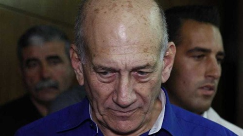 Olmert sentenced to six years for bribery