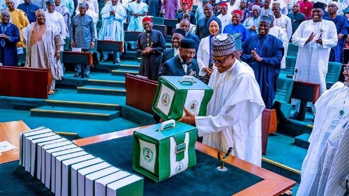 Nigerian president offers record $34bn budget for 2020