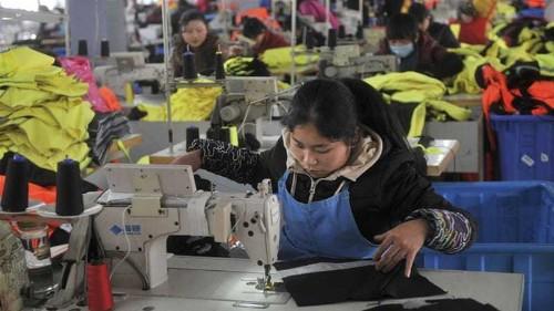 Robotics revolution rocks Chinese textile workers