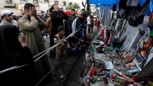 US blacklists Iran-backed Iraqi militia leaders over protests