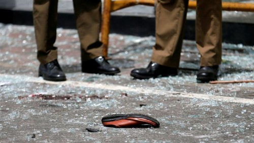 'Just their shoes': Sri Lanka struggles to identify the dead