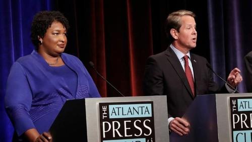 Stacey Abrams, Georgia Democrats decry Brian Kemp's hacking claim