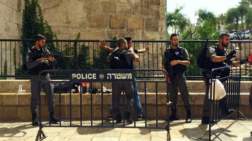 Israel's stop-and-frisk law 'blatant racism'