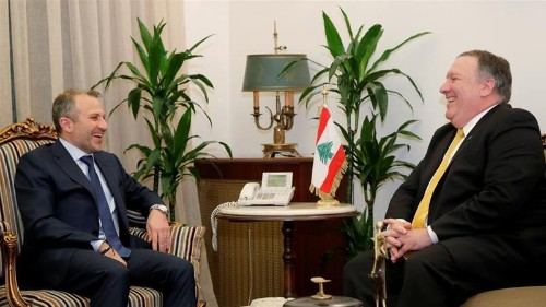 In Beirut, Pompeo at odds with Lebanese leaders over Hezbollah