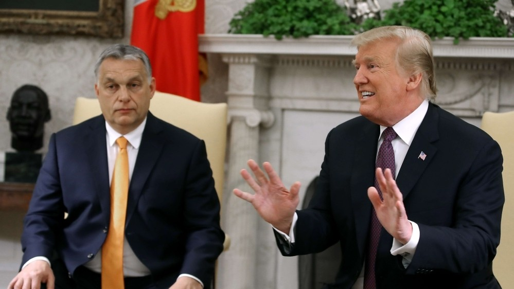 Hungary's PM Orban endorses Trump's re-election bid