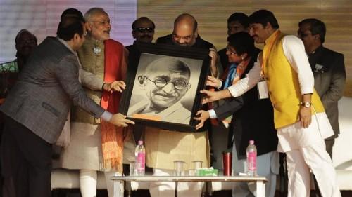 BJP's Gandhi paradox