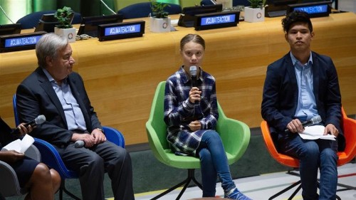 Youth leaders at UN demand bold climate change action